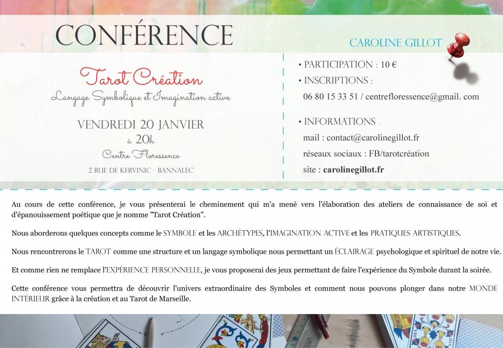 Conférence - 20 janvier - Bannalec