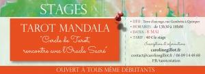"""Stage Tarot Création : """"Tarot Mandala"""" - 8 mai 2017"""