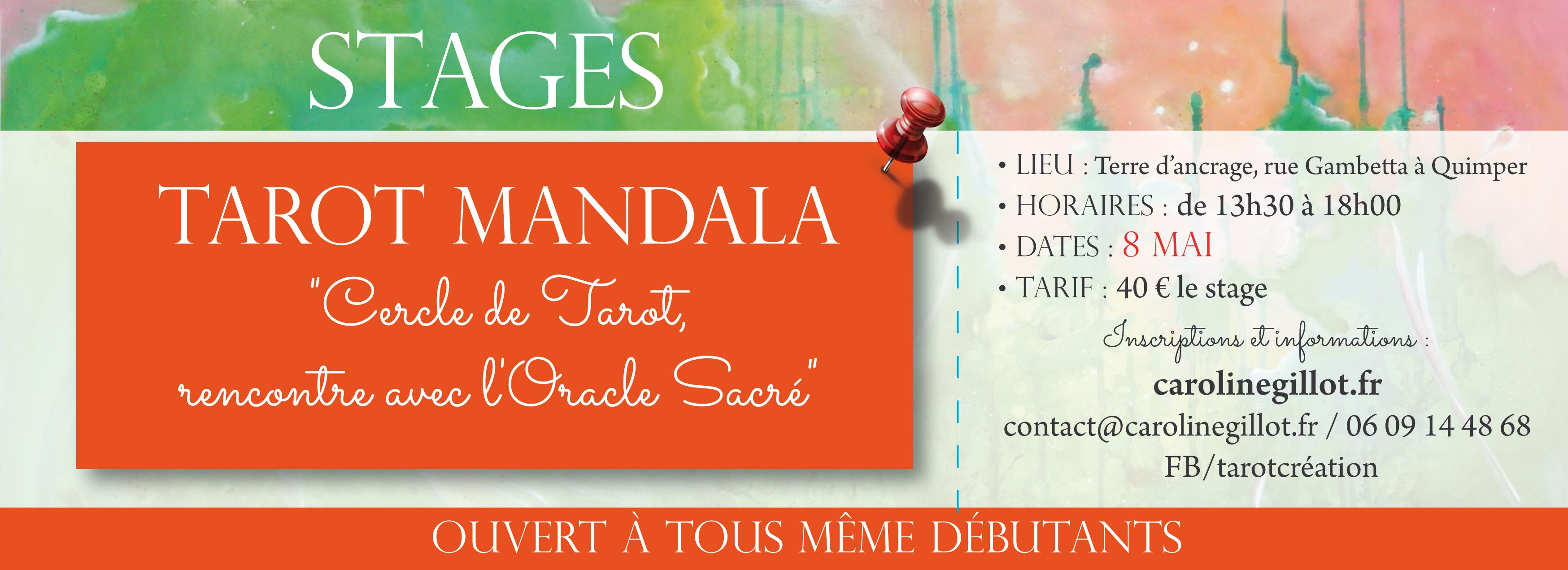 Stages Tarot Mandala