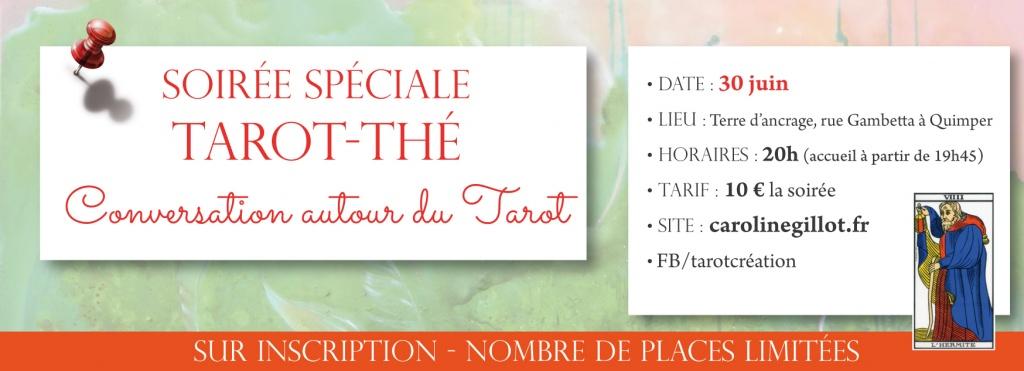 """Soirée spéciale Tarot-thé """"Conversation autour du Tarot"""""""