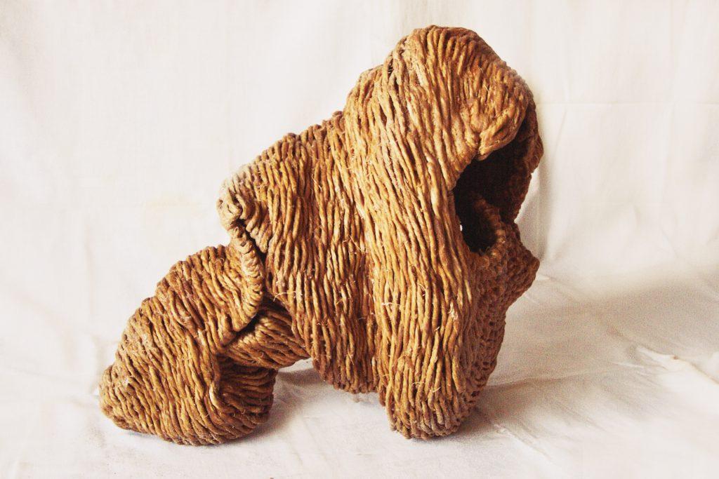 Sculpture tressée